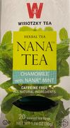 Chamomile with nana mint tea (20 bags)