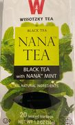 Black tea with Nana (20 bags)