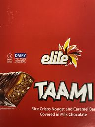 3 x Taami chocolate bar
