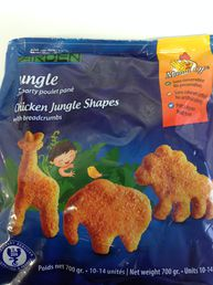 Chicken Jungle Shapes