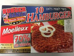 Hamburger 800g (10 pcs) Burger Ranch