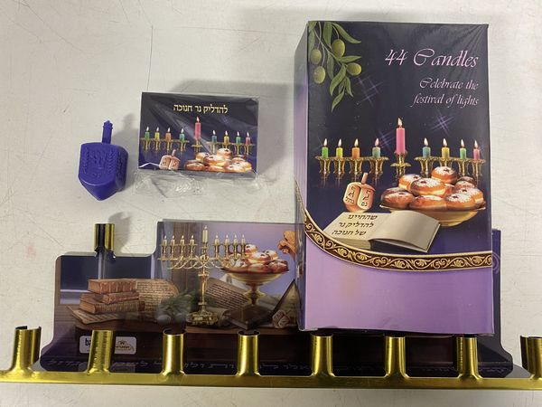 Chanukka Candle set